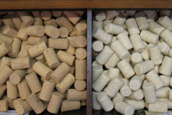 Tapones corcho cilindricos