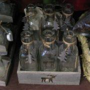 Botes y botellitas cristal