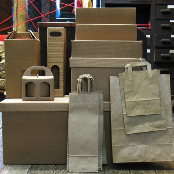Embalaje cajas y bolsas