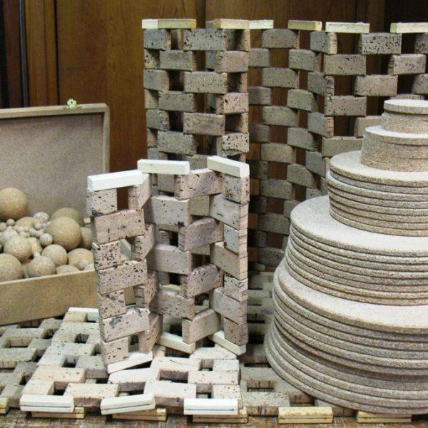 Ruedos-bolas-salvamanteles-alfombras-ano-cajas-de corcho